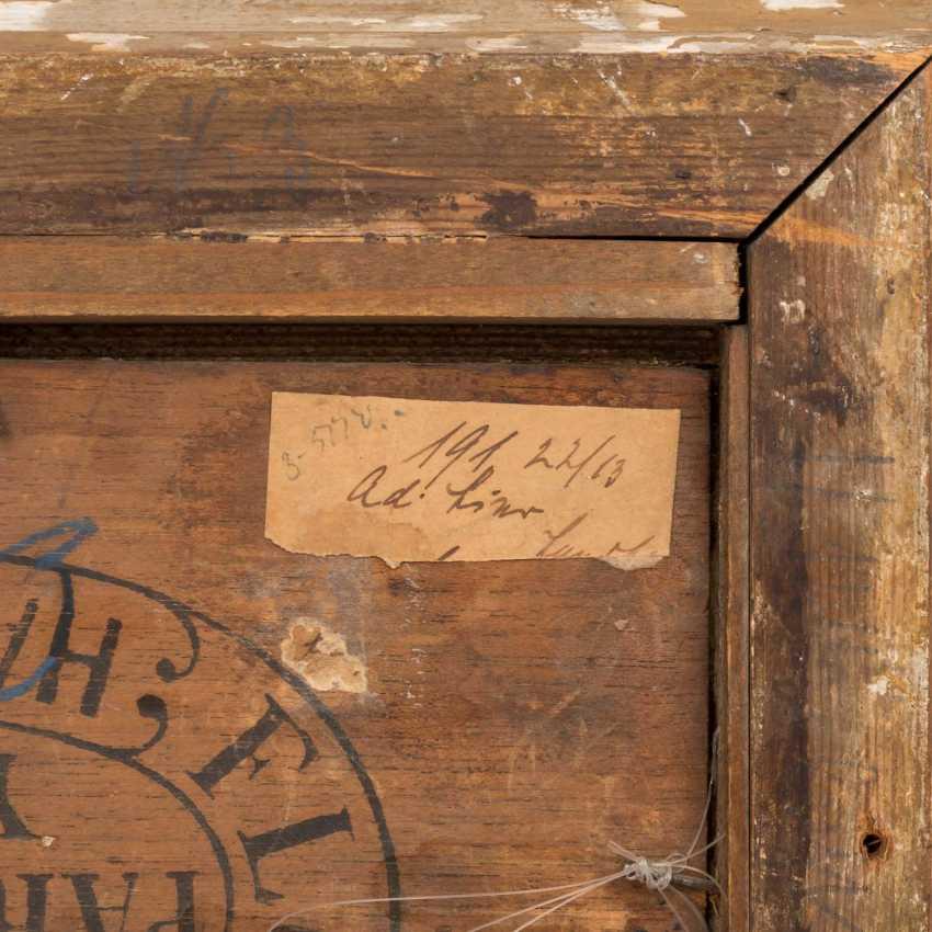 """LIER, ADOLF HEINRICH (1826-1882) """"Harvest time"""" - photo 4"""