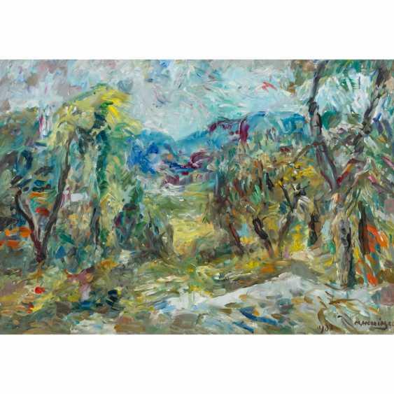 """HENNINGER, MANFRED (1894-1986) """"Summer landscape"""" - photo 1"""