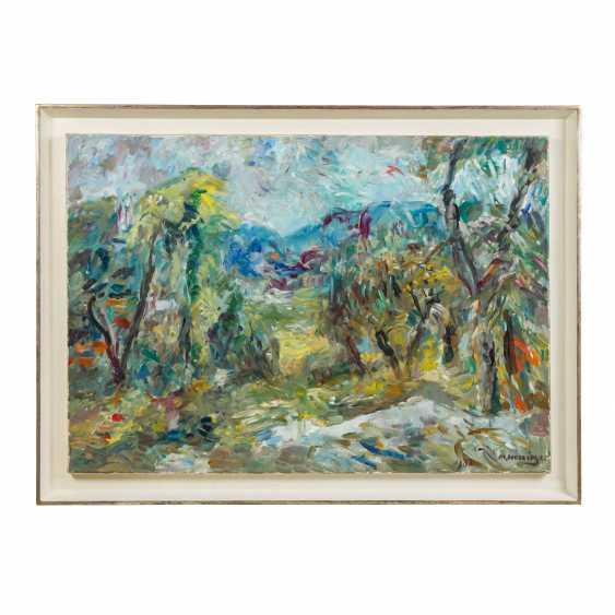 """HENNINGER, MANFRED (1894-1986) """"Summer landscape"""" - photo 2"""