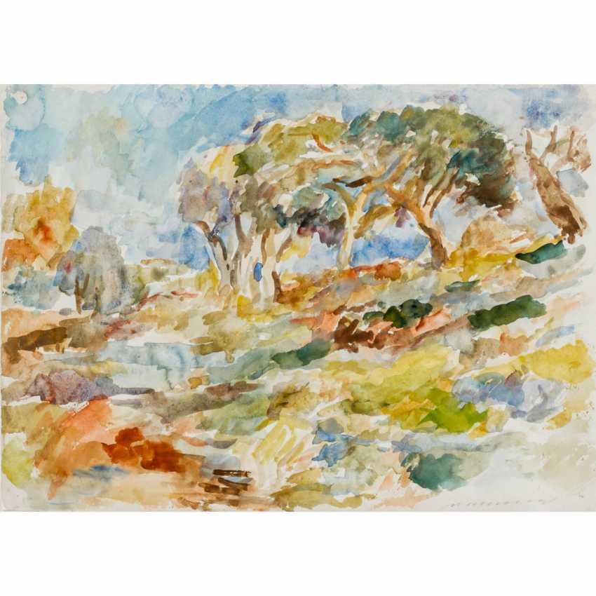 """HENNINGER, MANFRED (1894-1986) """"Landscape"""" - photo 1"""