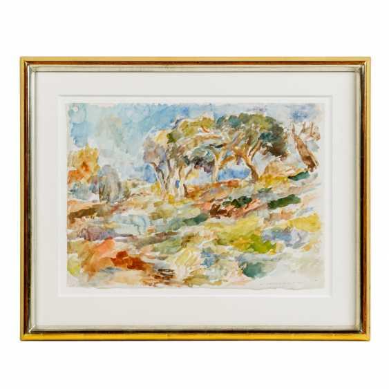 """HENNINGER, MANFRED (1894-1986) """"Landscape"""" - photo 2"""