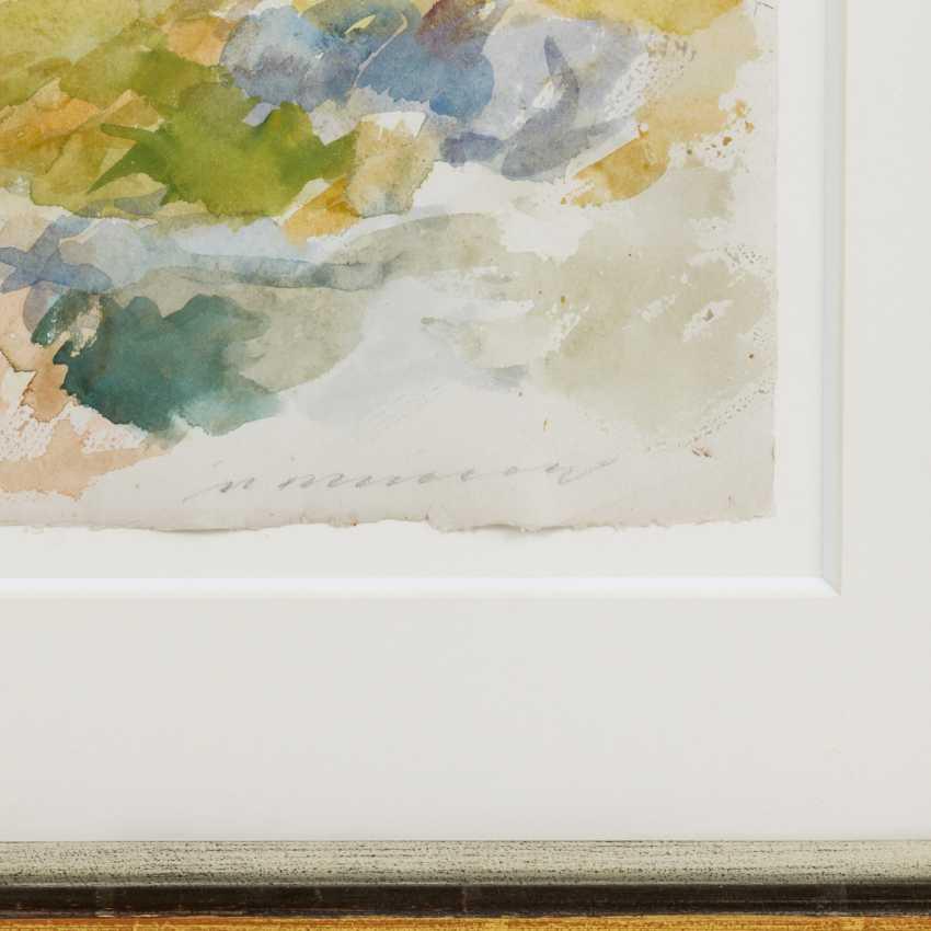 """HENNINGER, MANFRED (1894-1986) """"Landscape"""" - photo 3"""
