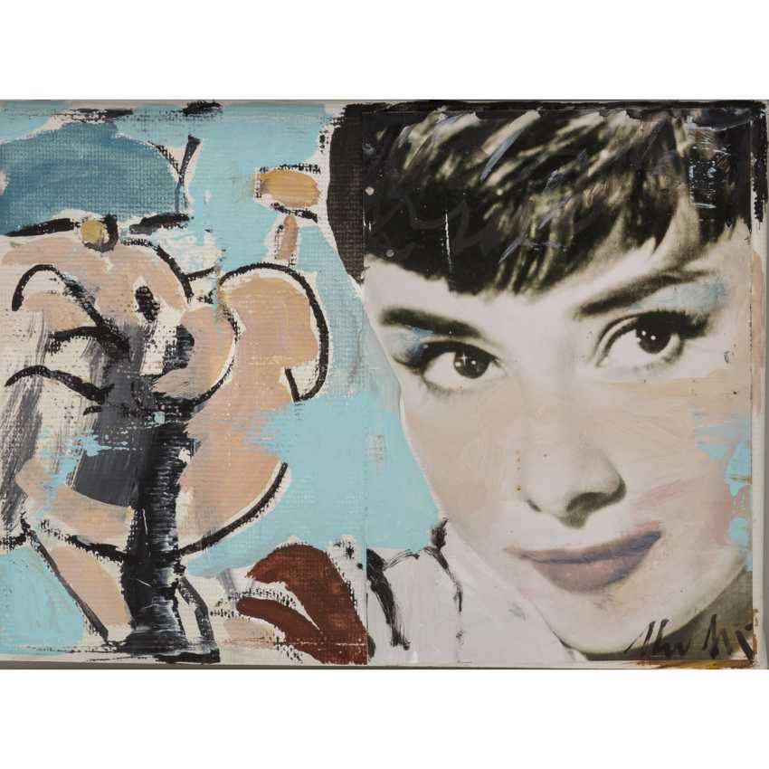 "MEYER, HEINER (born 1953), ""Audrey Hepburn and Popeye"", - photo 1"