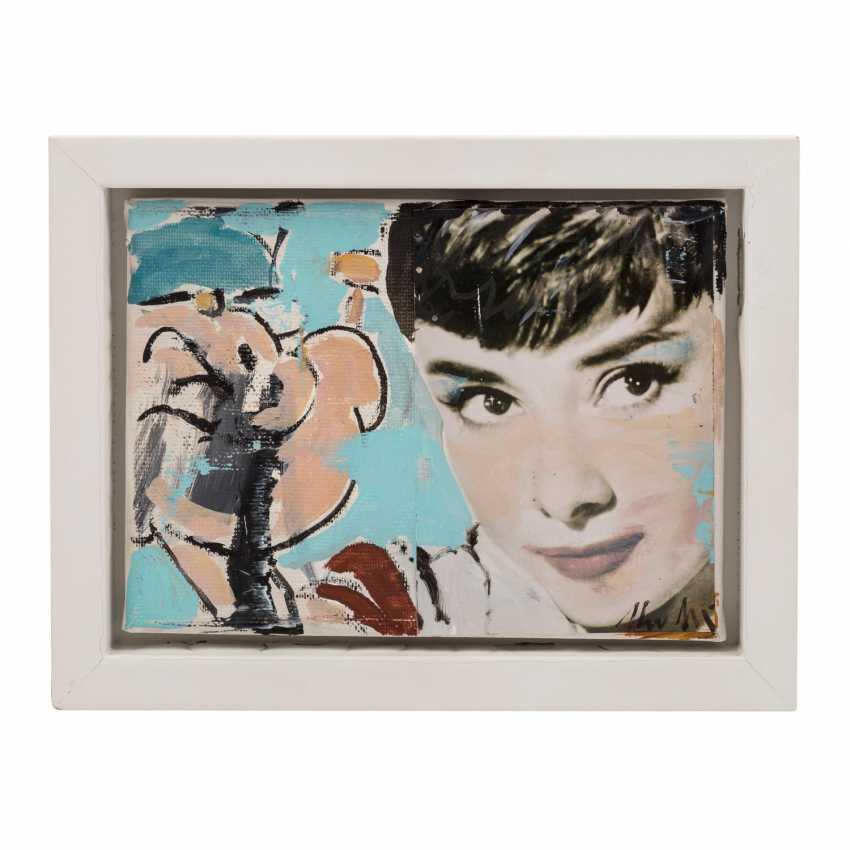 "MEYER, HEINER (born 1953), ""Audrey Hepburn and Popeye"", - photo 2"