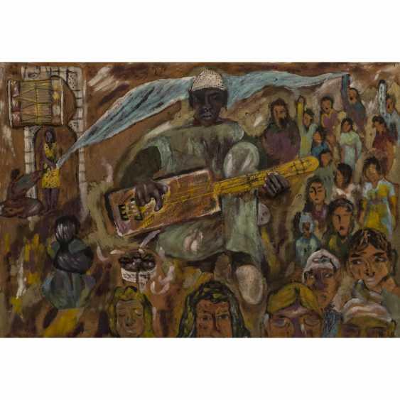 "TABAL, MOHAMED (born 1959), ""African Musician"", - photo 1"