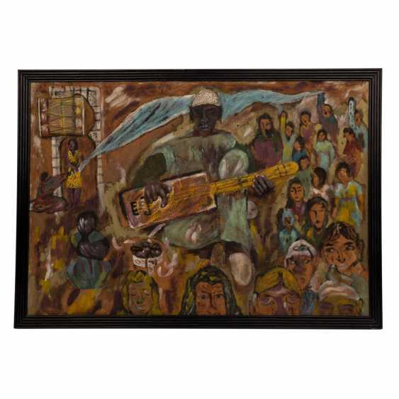 "TABAL, MOHAMED (born 1959), ""African Musician"", - photo 2"