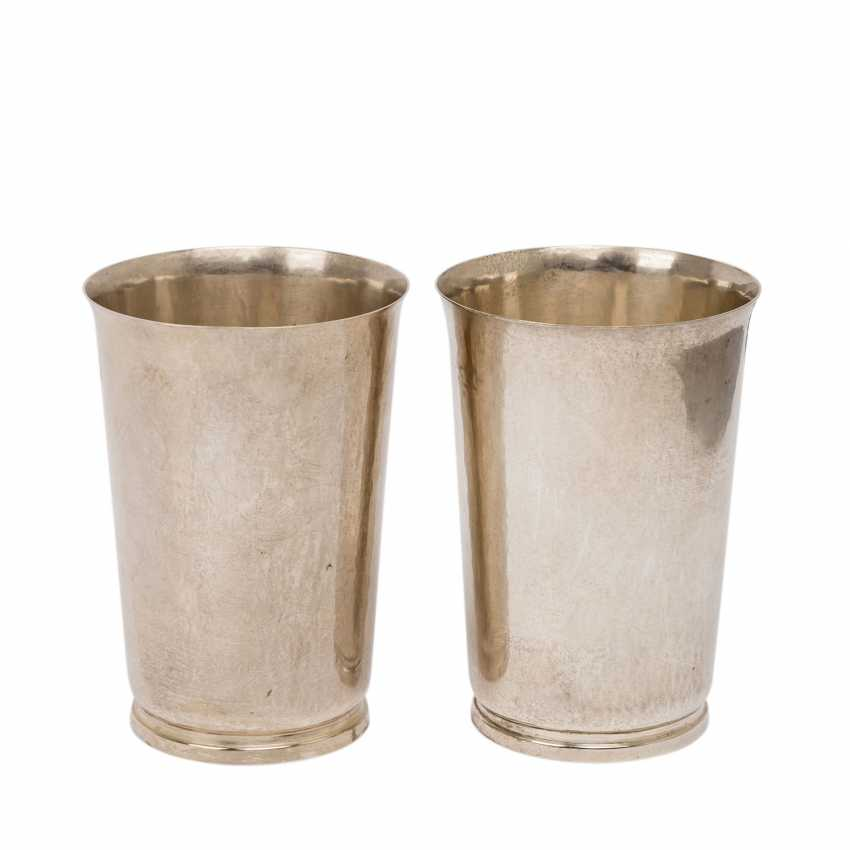 EDUARD WOLLENWEBER Pair of cups, 20th century - photo 1