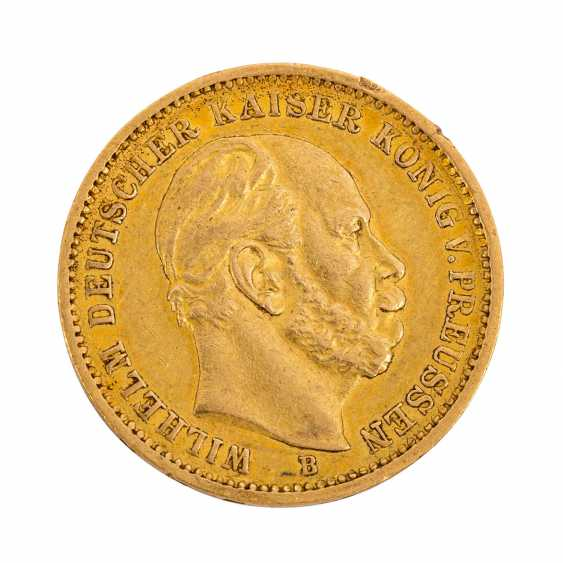 German Empire / Prussia - 20 Mark 1872 / B, Wilhelm I, - photo 1