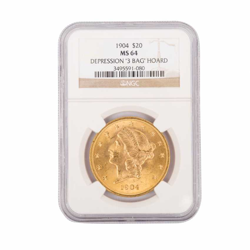 USA gold coin in NGC Grading Blister - - photo 1