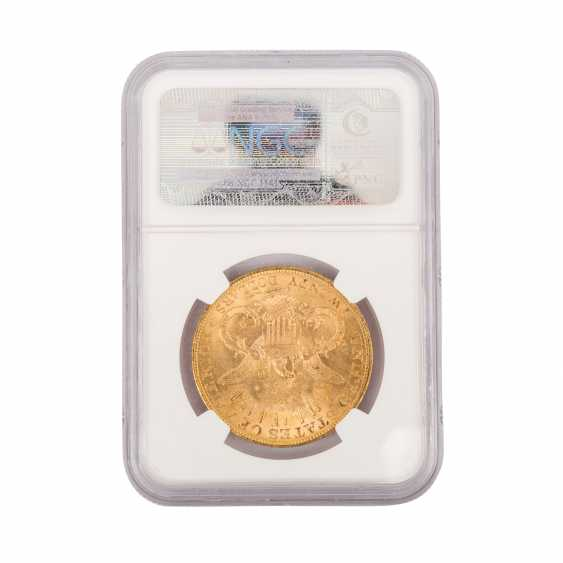 USA gold coin in NGC Grading Blister - - photo 2
