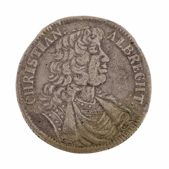 Duchy of Schleswig-Holstein-Gottorp - 2/3 thaler 1683, Christian Albrecht, - photo 1