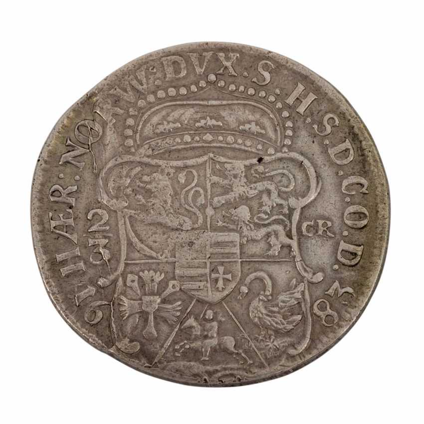Duchy of Schleswig-Holstein-Gottorp - 2/3 thaler 1683, Christian Albrecht, - photo 2
