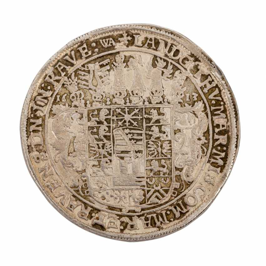 Saxony-Altenburg - Reichstaler 1613, Johann Philipp, - photo 2