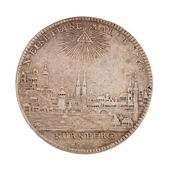 Free City of Nuremberg - Thaler 1768, Joseph II., City view, - photo 2