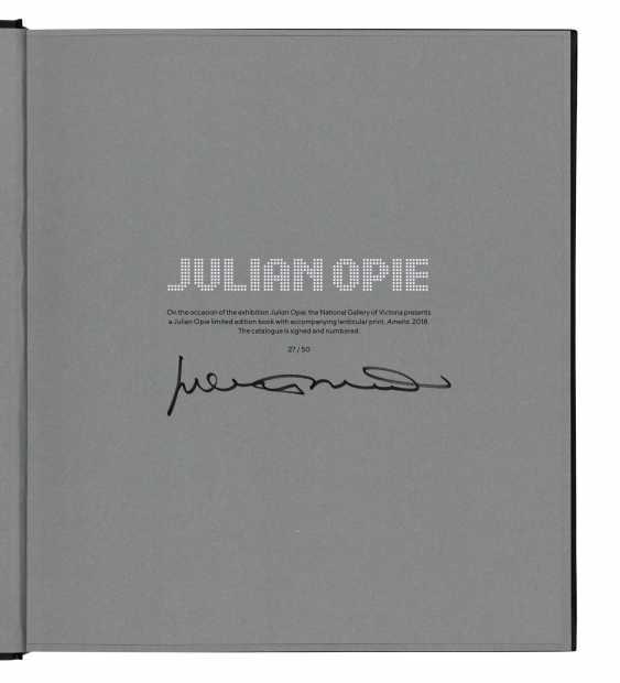 JULIAN OPIE (B. 1958) - photo 4