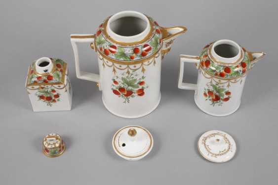 Lot 4212  Wallendorf Rest Service Strawberry Decor from the