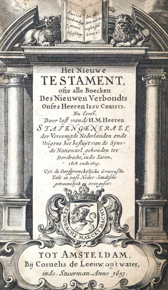 Biblia nederlandica. - photo 1