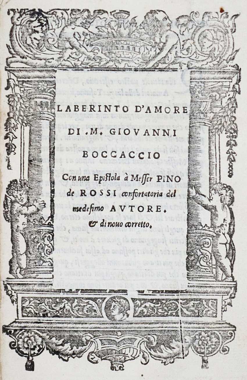 Boccaccio, G. - photo 1