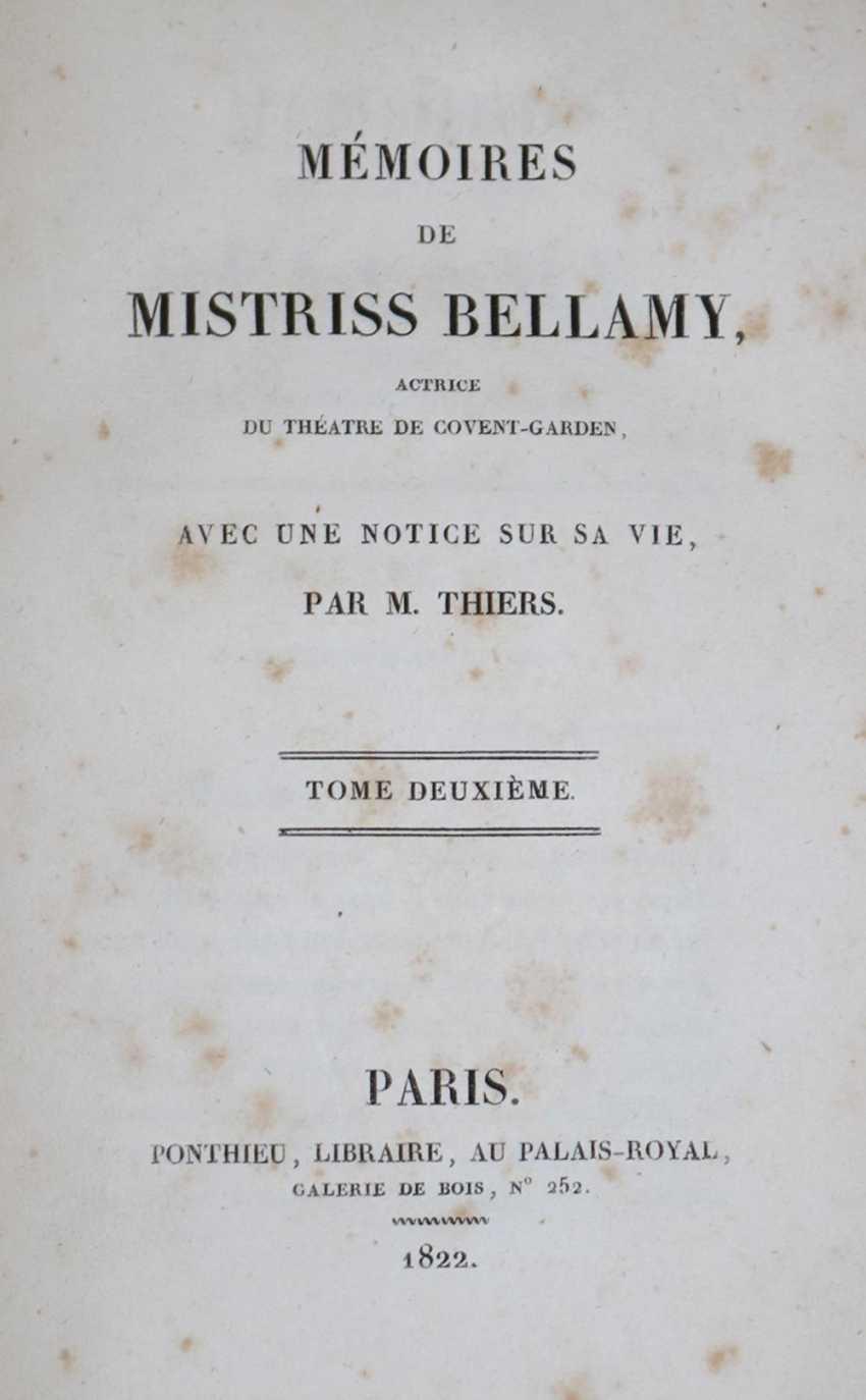 Bellamy, (G.A.). - photo 1