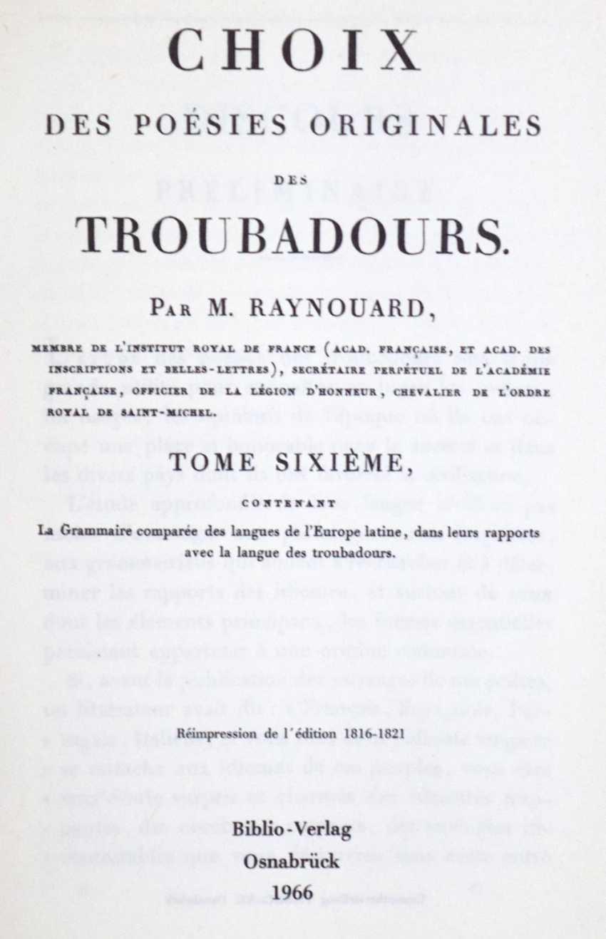 Raynouard, J.F.M. - photo 1