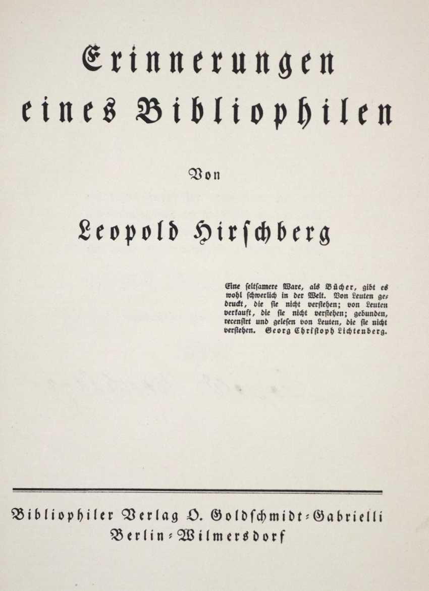Hirschberg, L. - photo 2