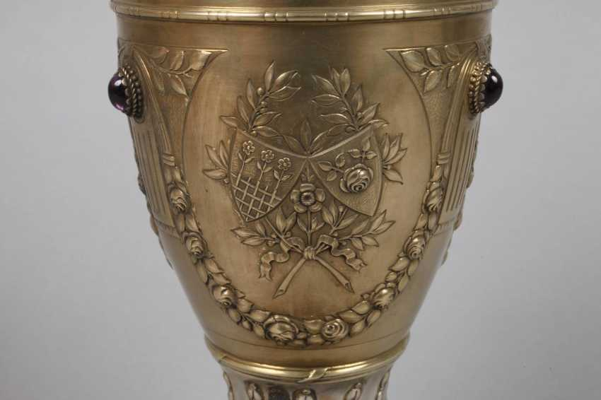 Auction Lot 4372 Gold Plated Silver Cup Historicism From