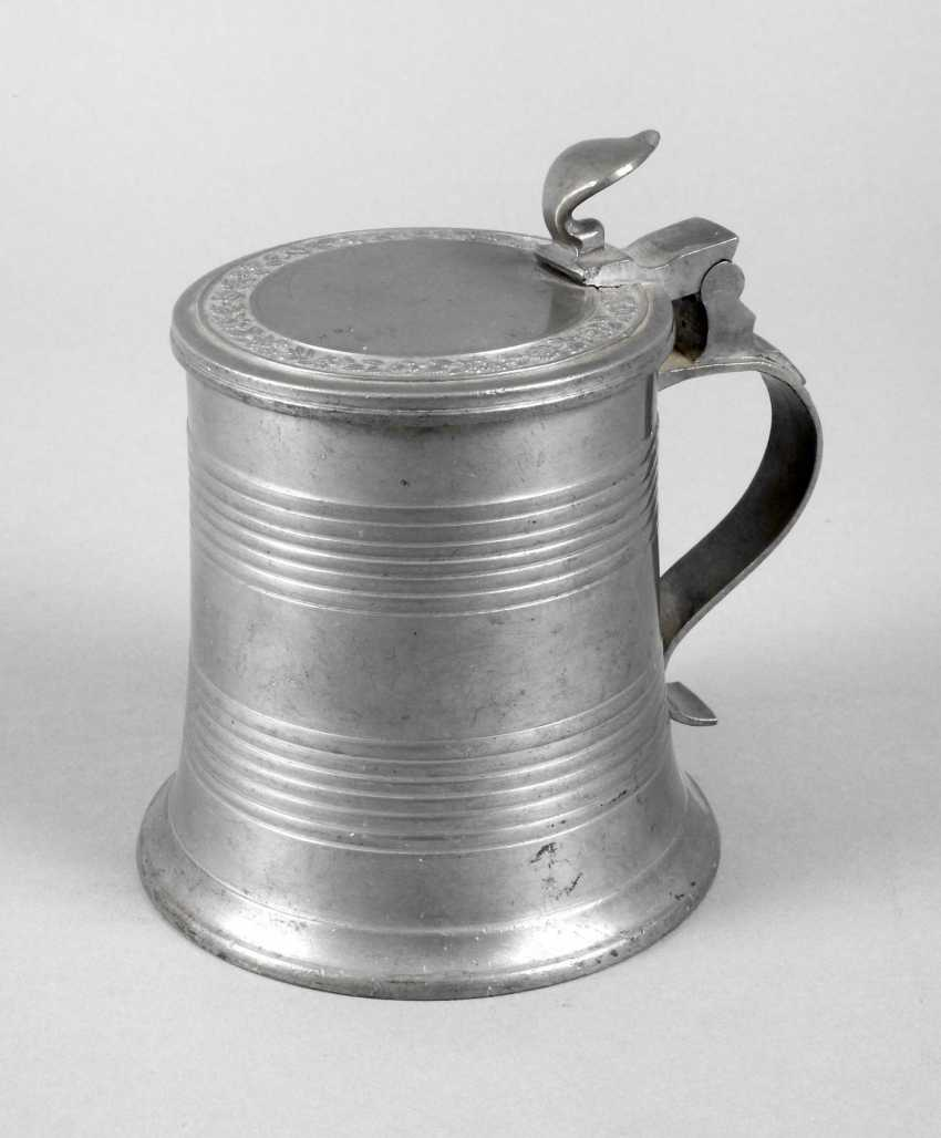 Compact Tin Lower Bavaria Tankard Auction Catalog Art And