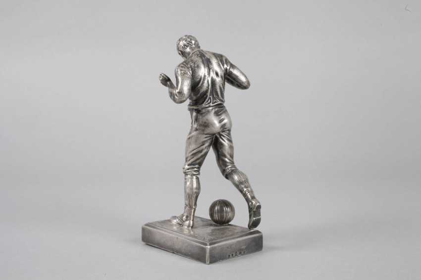 Auction Lot 4477 Wmf Geislingen Footballer From The