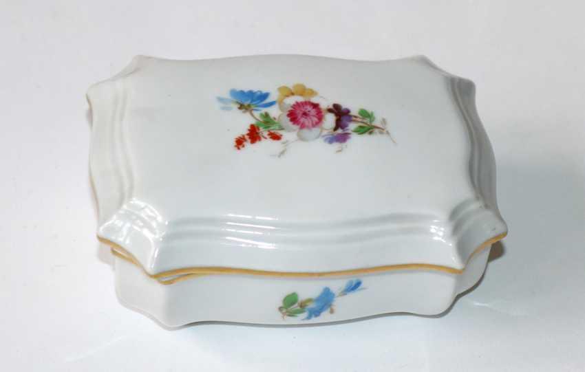 Porcelain vase u. Coaster Meissen. - photo 3