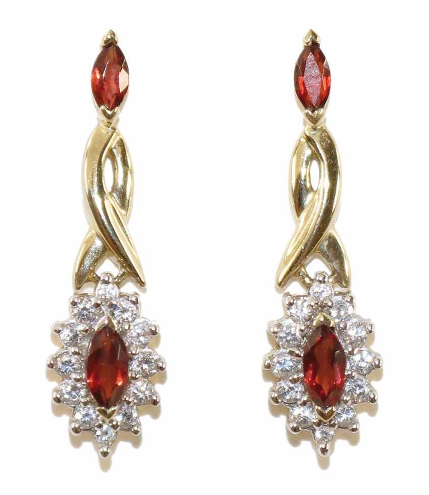 Diamond ruby ring - photo 1