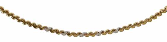 Collier 585 yellow gold - photo 1