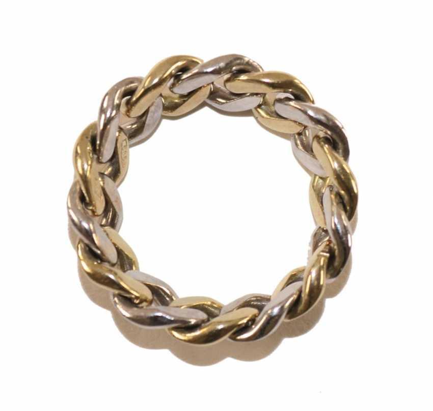 Chain ring diamond 585 WG / GG. - photo 2