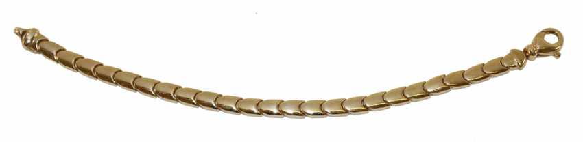 Interchangeable bracelet 585 WG / GG. - photo 1