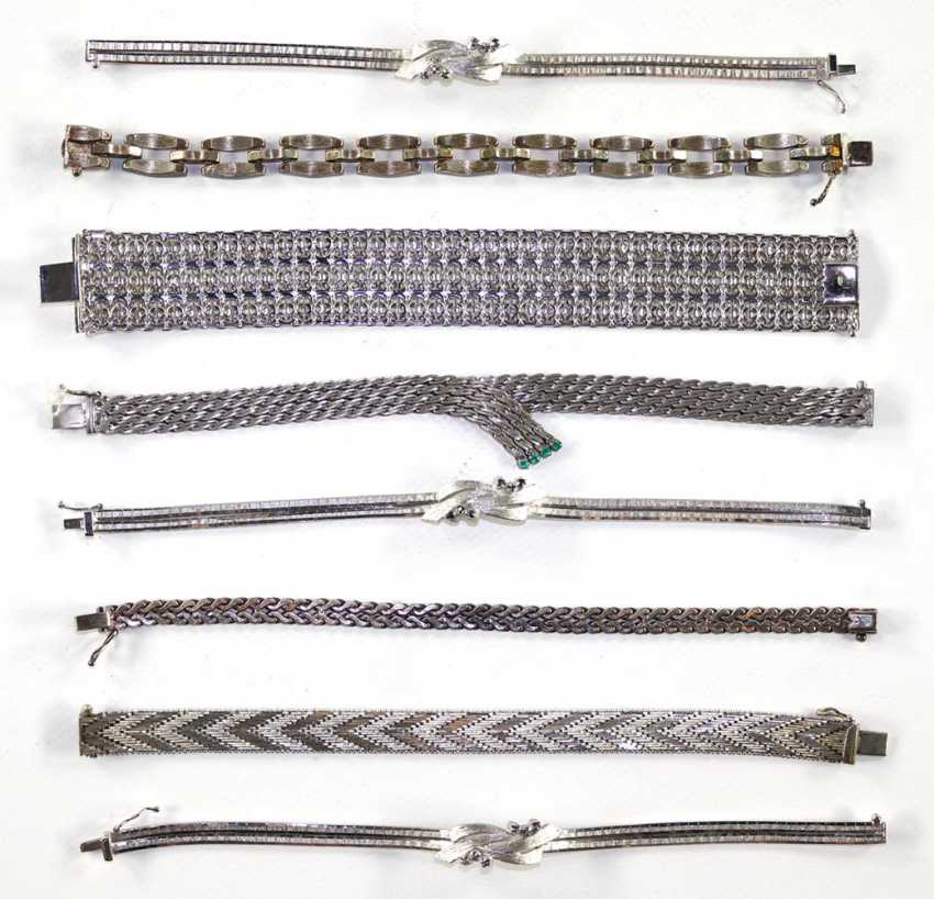 45 pieces silver jewelry - photo 1