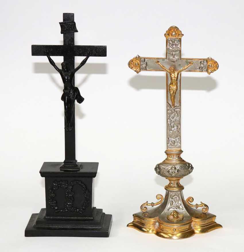 Altar cross u. Devotional cross. - photo 1