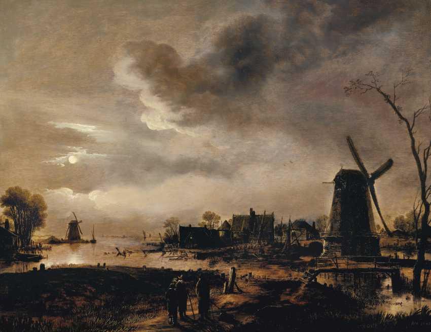 AERT VAN DER NEER (GORINCHEM 1603/04-1677 AMSTERDAM) - photo 1