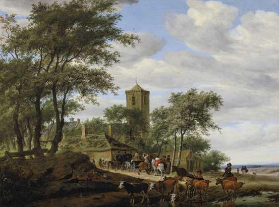 SALOMON VAN RUYSDAEL (NAARDEN 1600/03-1670 HAARLEM) - photo 1