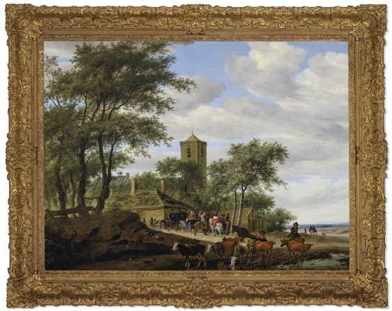 SALOMON VAN RUYSDAEL (NAARDEN 1600/03-1670 HAARLEM) - photo 2