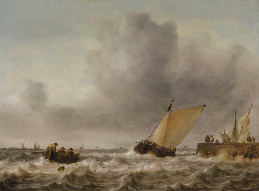 JAN PORCELLIS (GHENT 1584-1632 ZOUTERWOUDE) - photo 1