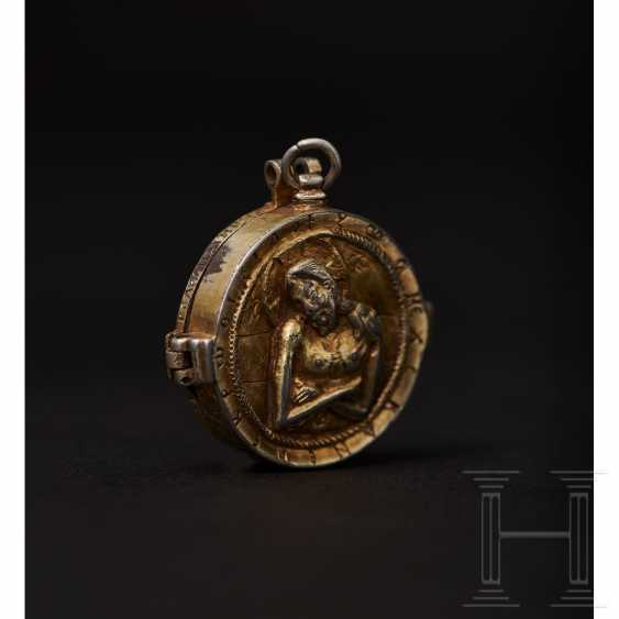 Important reliquary pendant, late Byzantine, 2nd half of the 14th - beginning of the 15th century - photo 6