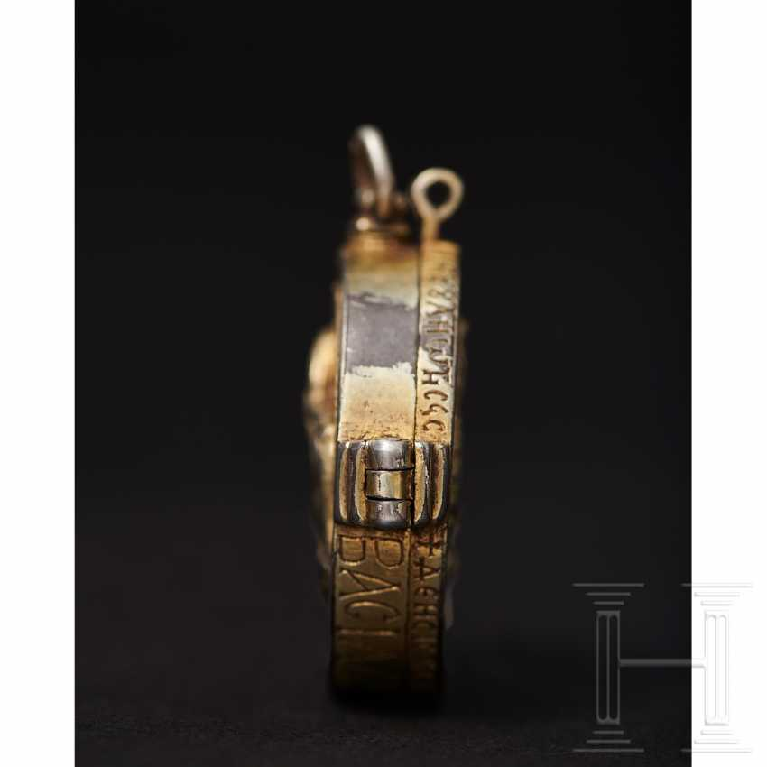 Important reliquary pendant, late Byzantine, 2nd half of the 14th - beginning of the 15th century - photo 8