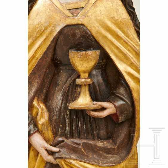 Relief depicting Saint Barbara, Swabia, around 1500 - photo 6
