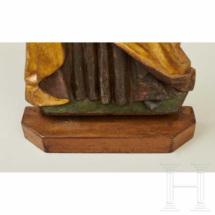 Relief depicting Saint Barbara, Swabia, around 1500 - photo 7