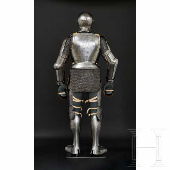 Maximilian knightly armor, German, around 1510/20 - photo 15
