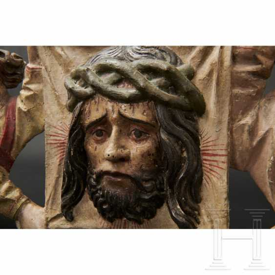 Two angels with a handkerchief of Saint Veronica, Memmingen, 1st quarter of the 16th century - photo 14