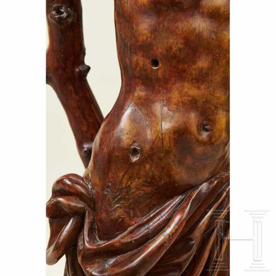 Large sculpture of Saint Sebastian, Southern Germany or Italy, 1st half of the 16th century - photo 7