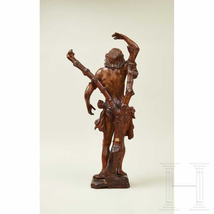 Large sculpture of Saint Sebastian, Southern Germany or Italy, 1st half of the 16th century - photo 11