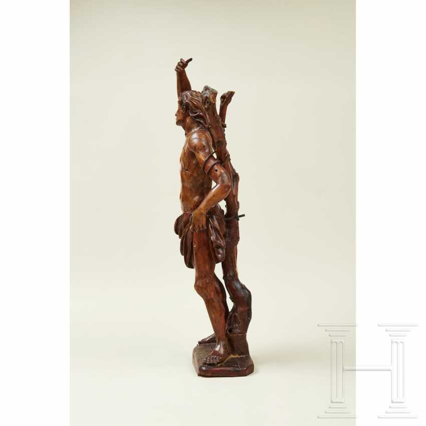 Large sculpture of Saint Sebastian, Southern Germany or Italy, 1st half of the 16th century - photo 12