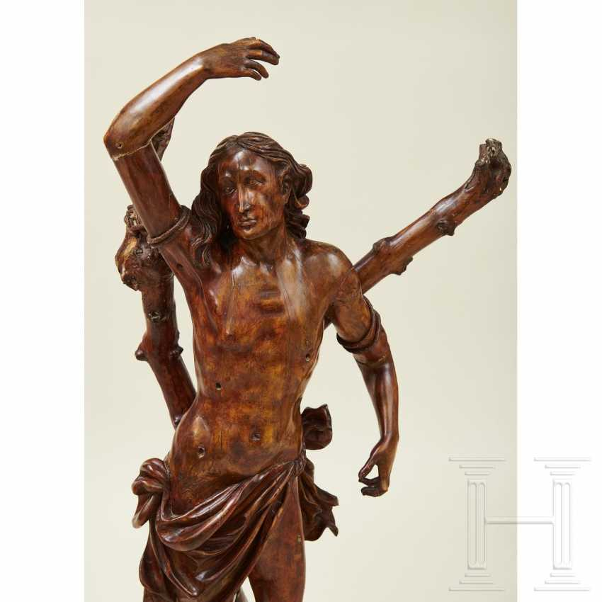 Large sculpture of Saint Sebastian, Southern Germany or Italy, 1st half of the 16th century - photo 15