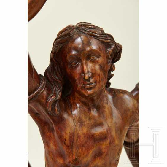 Large sculpture of Saint Sebastian, Southern Germany or Italy, 1st half of the 16th century - photo 16